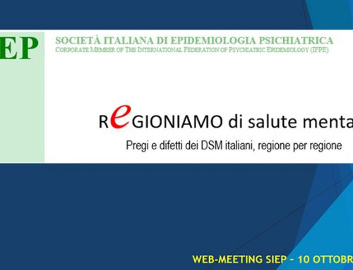 "Disponibili online i materiali del ""Regioniamo"" – Web Meeting SIEP"